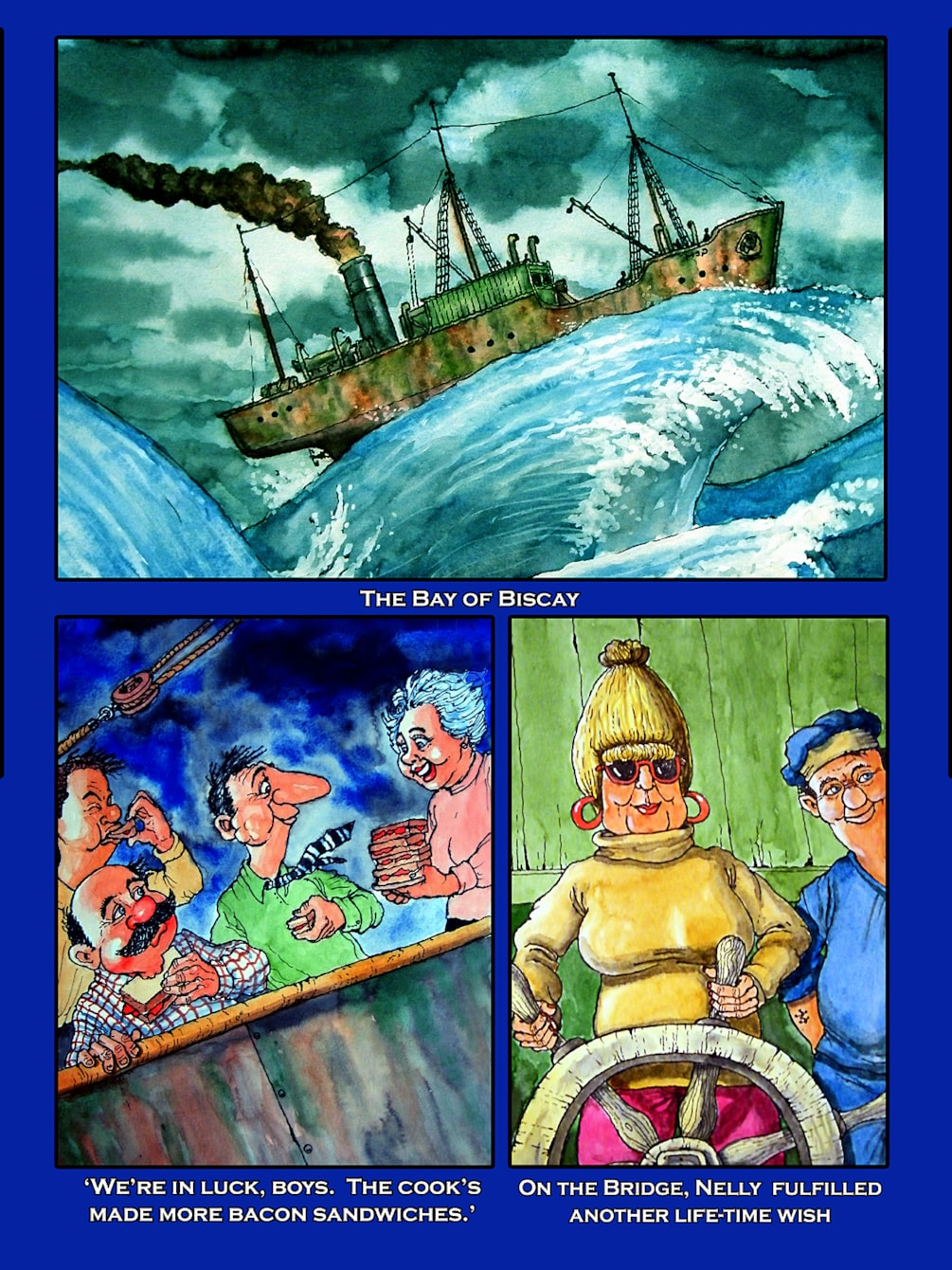 Ron & Nelly's World Cruise -Page11
