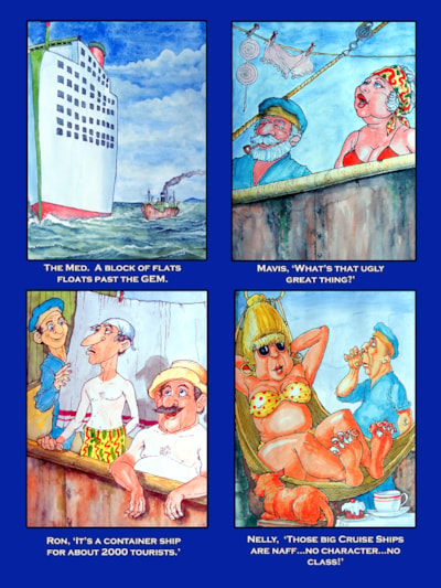 Ron & Nelly's World Cruise Page 8