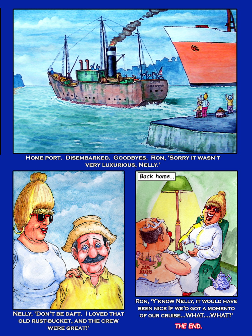 Ron and Nelly's World Cruise-page12