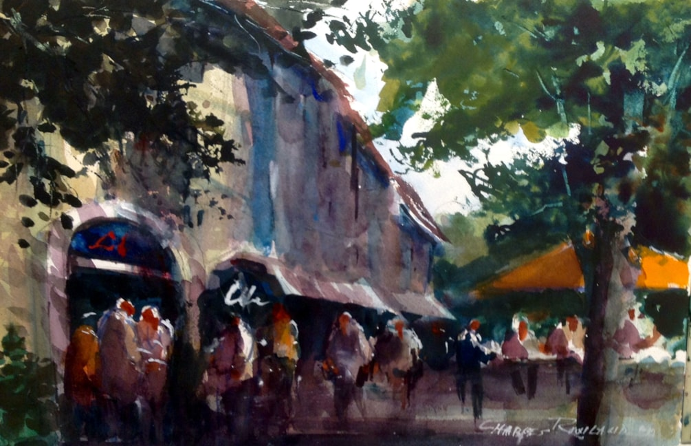 Rowland Charles-Market South of France