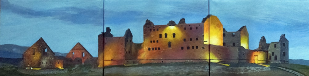 Ruthven Barracks finished