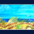 Seascape and the dunes_1