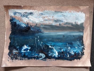 Seascape in Blue