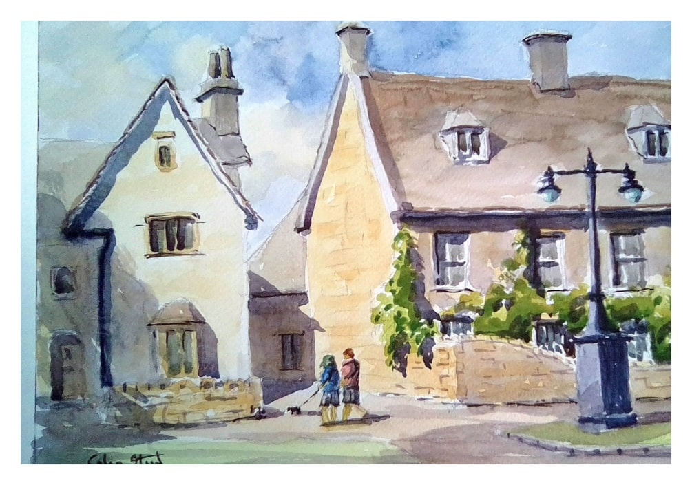 Side Lane, Broadway, The Cotswolds