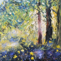Spring revamp with bluebells
