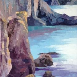 Stack Rocks - Oil - 40x60cms Jan2019