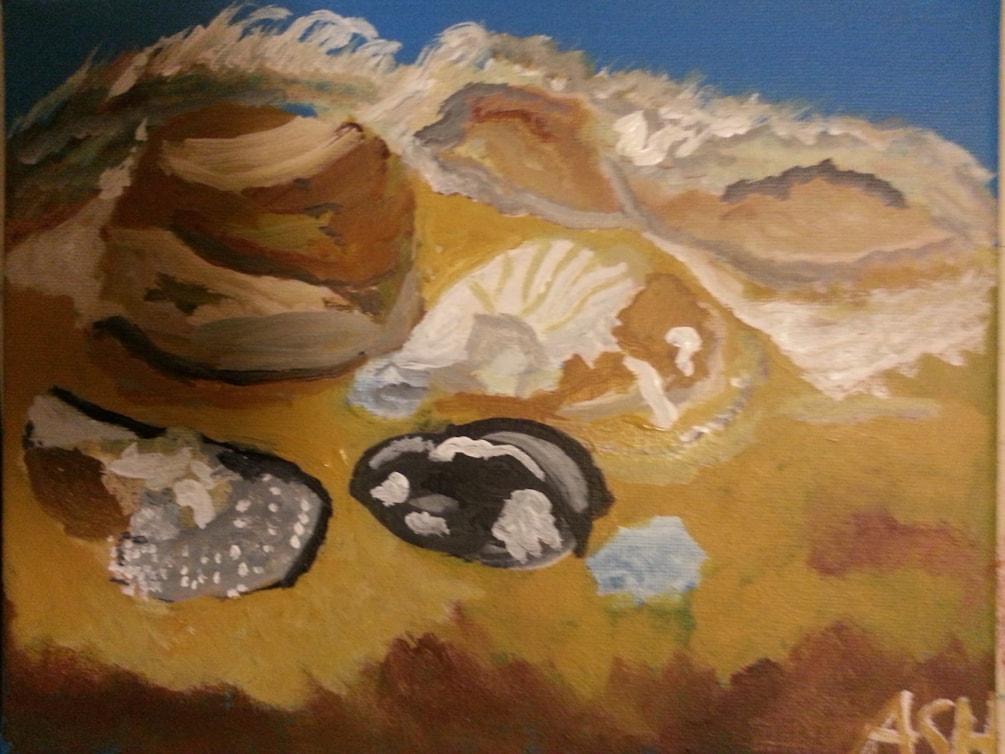Still-life painting 1 004