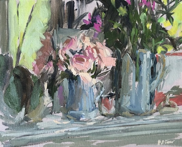 Still-life with Pink Roses 600px