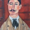 Sue F Great Grandad Modigliani style