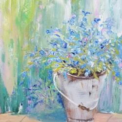 Sue Toft Artist - Something Old Something Blue