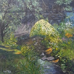Sue Toft Artist - Sunlight and Shadows