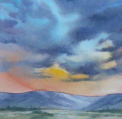 Summer Evening Skyscape