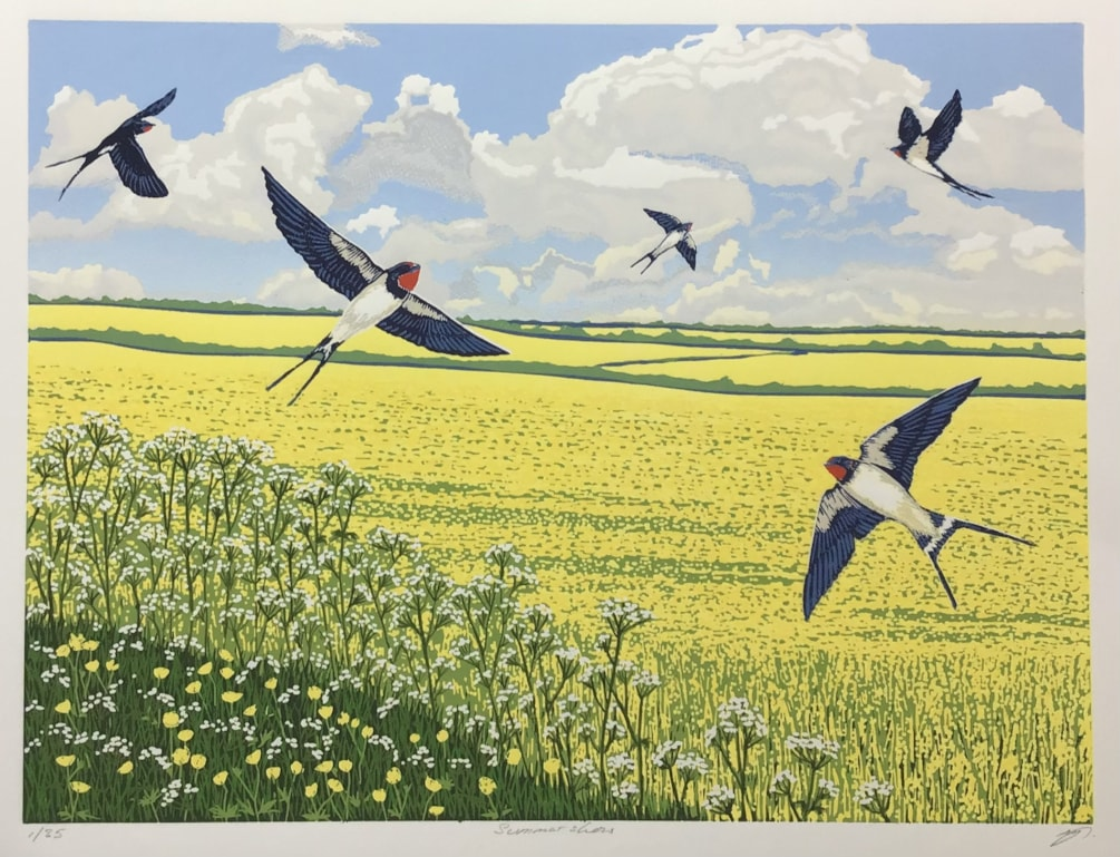 Summer show by Margaret Mallows