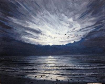 Sunrise monochrome 23 09 2019 002 Emergence 550 pix
