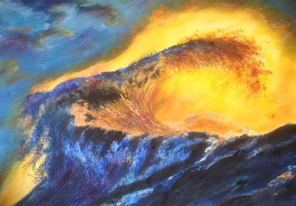 Sunset Storm Surge Aug 2019 Sold £290 to AS (G)