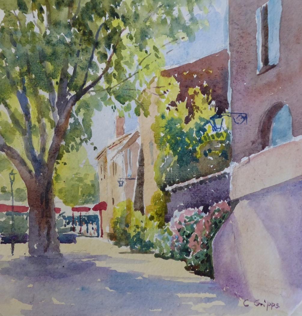 Sunshine on the Terrace, Gassin
