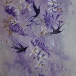 Swallowand Lilac
