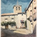 Tarjados Village, Spain