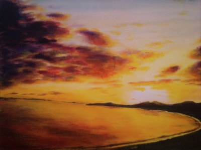 The Calm Before 12x16 £190 04 11 19