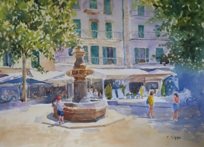 The Fountain, Soller