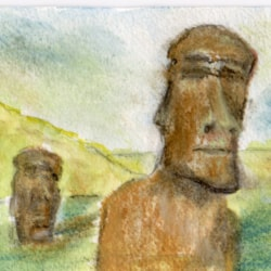 The Watchers of Easter Island
