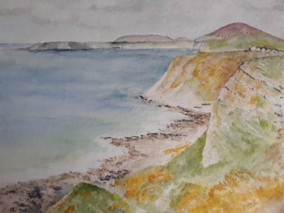 Three Cliffs and Rhossili Bay