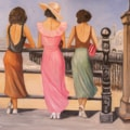 Three belles by the sea-1