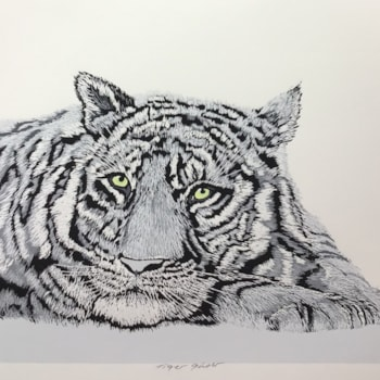 Tiger ghost by Margaret Mallows