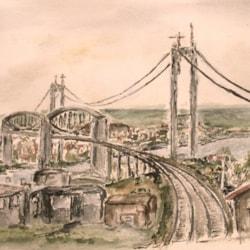 Two bridges over the Tamar