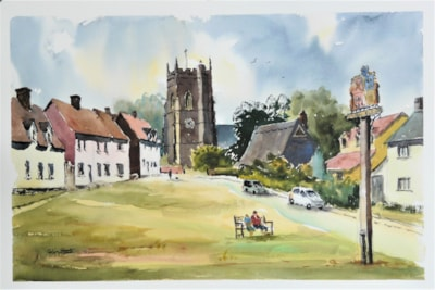 Village Church, Monks Eleigh, Suffolk