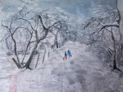 Walking in the winter resize