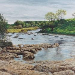 Wharfe river