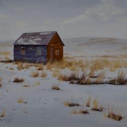 Winter Cabin-Small