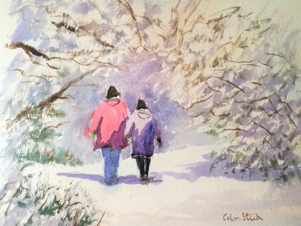 WinterWalk, Galleywood Common, Essex.