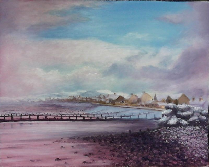 Winter by the sea