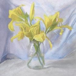 Yellow lilies- Lea A Cupial