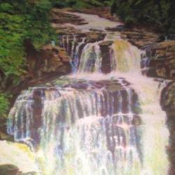 Zambesi Falls 16x20 26 02 19 £375 (G)