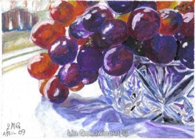 Crystal & Grapes