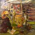 Painting in Colette's Garden