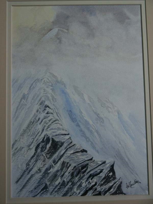 Distant summit Sharp Edge