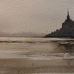 Le Mont Saint Michel. Normandy