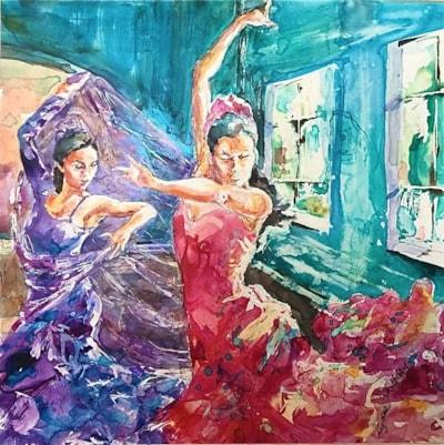 Flamenco flounce
