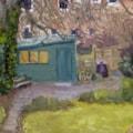 Back garden, overcast