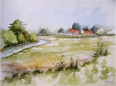The polders in Holland