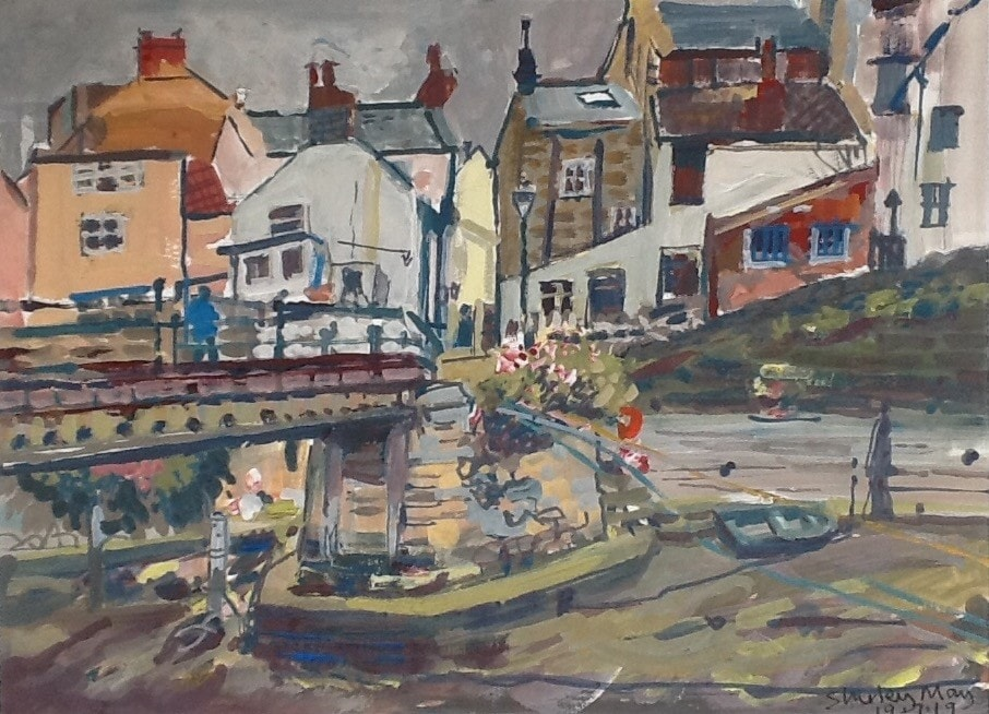Staithes - down by the RNLI station