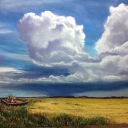 Stormy skies, Cley, Norfolk