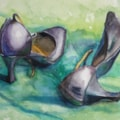 Tango Shoes (Green Background)
