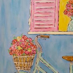 The flower sellers bike
