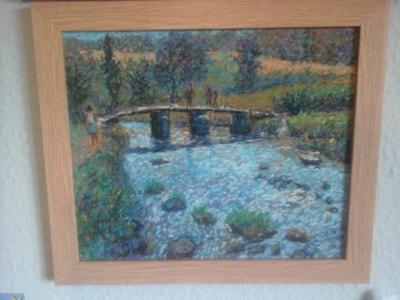 dartmoor clapper bridge SOLD