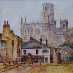 Durham from the Court Inn